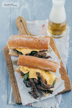 Philly Cheese Steak 1