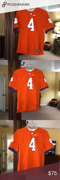 ebab09a7c12 Deshaun Watson Clemson Jersey Excellent condition Only worn a couple of  times Smoke and pet free home Nike Shirts   Tops