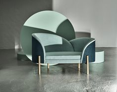 Bloom by Lotte Nygaard Knudsen. Student Exhibition at the Stockholm Furniture Fair. Sofa Design, Design Furniture, Sofa Furniture, Sofa Chair, Luxury Furniture, Modern Furniture, Interior Design, Modern Daybed, Furniture Inspiration