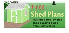 Free shed plans for a 10x10 gable shed. Includes detailed…