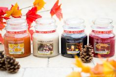 collection-bougies-parfumees-automne-yankee-candle-harvest-time Bougie Yankee Candle, Yankee Candles, Candle Jars, New Yankee, Inspiration, Collection, Candles, Fall Season, Biblical Inspiration