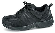 Orthofeet's athletic shoe. Sizes 7–12, 13, 14, 15 in XW (4E) and XXW (6E).