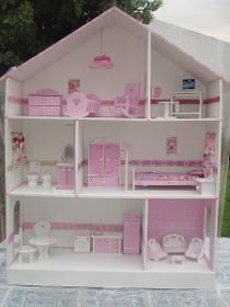 Home Crafts, Diy And Crafts, Baby Alive, Home Room Design, Barbie Furniture, Dollhouse Dolls, Kit Homes, House Rooms, Diy Tutorial