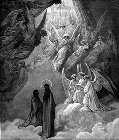 Paradiso Canto The Eagle celebrates the Just. Alighieri, Dante - The Divine Comedy. Christian Drawings, Christian Art, Gustave Dore, Jesus Christ Painting, Dante Alighieri, Biblical Art, Historical Art, Dark Photography, Dantes Inferno