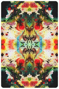 mtkofflan: Reverse Rainbow Vision Giclée Fine Art Print by M. Kunst Inspo, Art Inspo, Psychedelic Art, Claude Monet, Hippie Trippy, Psy Art, Visionary Art, Vanitas, Illustrations