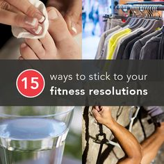 It's no secret that many people have trouble keeping New Year's resolutions that involve getting and staying fit. Not this year! These tips will keep you coming back to the gym again and again. So here's to 2014 — your fittest year yet.