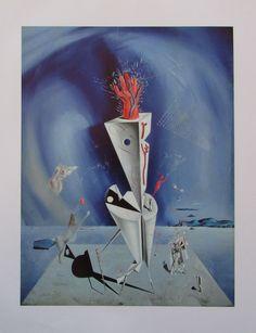 Salvador Dali APPARAT UND HAND Kunstdruck spanische Kunst art print | eBay