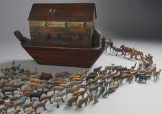 Magnificent Large Noah's Ark - Robert Young Antiques