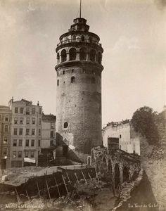 Galata Kulesi - Abdullah Fréres #birzamanlar #istanlook #nostalji