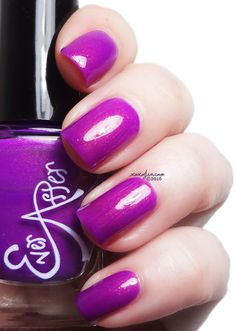 xoxoJen's swatch of Ever After Cottontail (collab with Literary Lacquers)