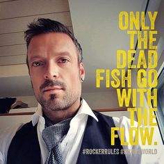 only the dead fish go with the flow. #rockerrules  #ndwrsworld