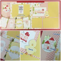 Carta Bella It's A Girl Best place for scrapbook layouts ever! www.scrapbookstation.com