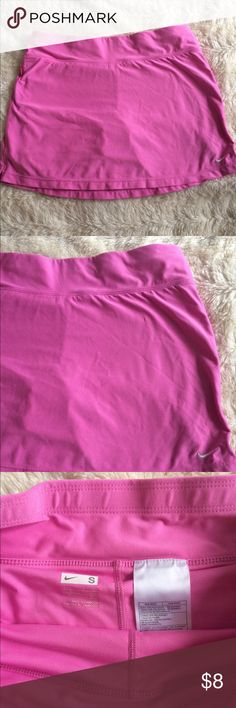 Cute pink Nike skirt Good condition Nike skirt. Nike Shorts Skorts