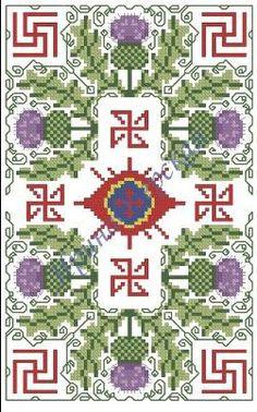 Размер: 73 х 104 крестика, 8 цветов мулине
