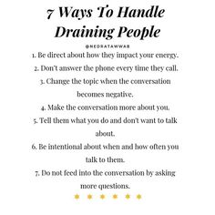 How to Handle Draining People Mental And Emotional Health, Emotional Healing, Feeling Burnt Out, Social Media Detox, Coping Skills, Emotional Intelligence, Healthy Relationships, Relationship Tips, Self Development