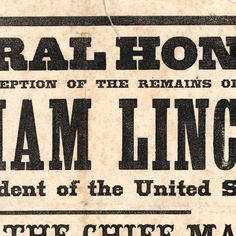 Funeral Honors On Reception Of The Remains Of Abraham Lincoln, Late President of the United States :: Civil War Materials