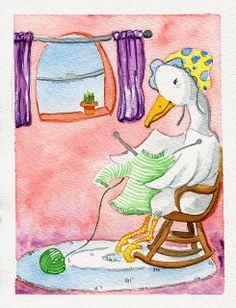 на весёлых на утят быть похожими хотят Illustration Friday: Sweater   Flickr: Intercambio de fotos