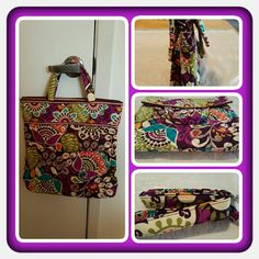 💜👜 NWOT Vera Bradley Convertable Crossbody 👜💜 Brand New Never Used Vera Bradley Two Way Convertible Crossbody In Retired Rare Plum Crazy Pattern. This Beautiful Bag Has Alot Of Space And Pockets Interior And Exterior Plus Removable Shoulder Strap Which Makes This A Versatile Bag Shoulder Bag, Crossbody Or Arm Bag. Excellent Condition. Retails For Roughly: $70 + S&H + Taxes 🚫 TRADES 🚫 PAYPAL 🚫 NO OFFERS ACCEPTED AT THIS TIME PRICE IS FINAL MARKDOWN 👜💜 Vera Bradley Bags Crossbody Bags