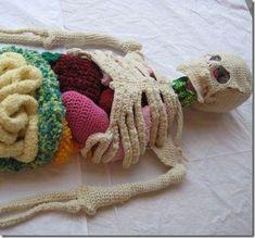 Cool Crafts for Kids: Crochet Skeleton