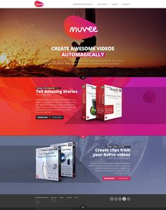 Web design: Muvee - home by VictoryDesign on DeviantArt Web Design Inspiration, Deviantart, Space, Display