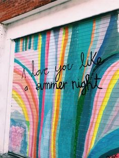 Missing summer, but