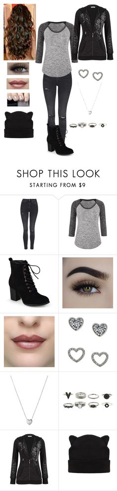 """Untitled #893"" by jujuxx33 ❤ liked on Polyvore featuring Topshop, maurices, Journee Collection, Disney, Chanel, Lipsy and Links of London"