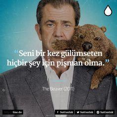 """✔""""Səni bir dəfə güldürən heç nə üçün peşman olma"""". #Beaver"""