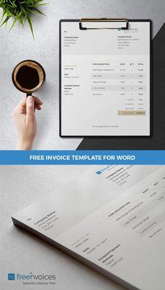 Microsoft Word Invoice Template Free Download Invoice Template Freebie For Small Businesses And Entrepreneurs .