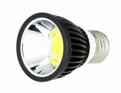 E27 5W Pure White White Sportlight Blub (Black) by QLPD. $37.64. A power saving sportlight blub gives out pure white light for illumination.