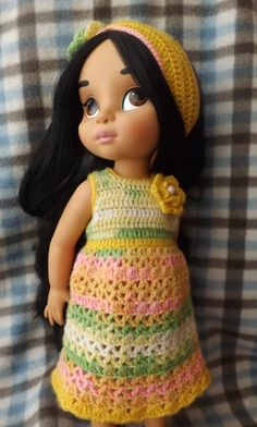 Disney Animator's Jasmin crochet outfit
