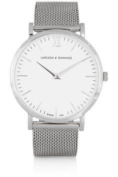 Larsson & Jennings CM silver-plated watch NET-A-PORTER.COM - post-T
