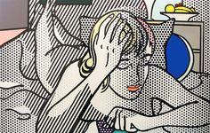 Thinking Nude by Roy Lichtenstein #popart