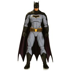 DC Collectibles Icons: Batman Rebirth Action Figure: As seen in the DC rebirth: Justice League action figure the dark Knight is back in a new solo action figure featuring his appearance in DC's smash-hit rebirth titles! Batman Free, I Am Batman, Batman Comics, Batman Stuff, Superman, Justice League Action Figures, Dc Comics Action Figures, Action Toys, Dc Rebirth Batman