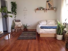Love the open space and plants