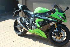 Kawasaki ZX -6R Racefit Growler black series