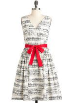 In the Key of Chic Dress   Mod Retro Vintage Dresses   ModCloth.com