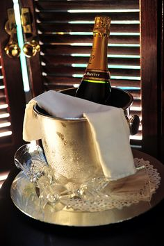 Anyone for a glass of bubbly?