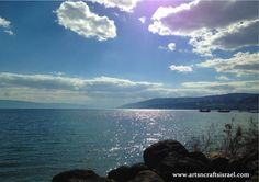 The perfect place for the perfect holiday! Sea of Galilee, Israel www.artsncraftsisrael.com