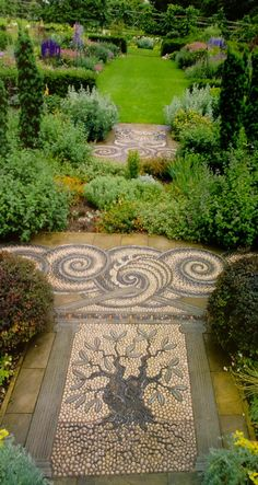What You Can Do To Improve Your Landscaping using Garden Arbor Everyone that owns a home wants to take pride in it. River Rock Landscaping, Front Yard Landscaping, Landscaping Ideas, Garden Arbor, Garden Paths, Unique Gardens, Beautiful Gardens, Professional Landscaping, Pebble Mosaic