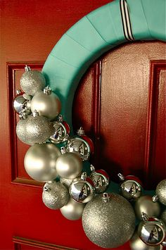 Beautiful easy wreath idea