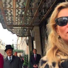 Kate Moss leaves Claridge's Hotel in London   Kate Moss Universe