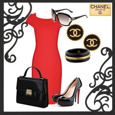 """""""Coco Chanel style"""" by fynn28 on Polyvore"""