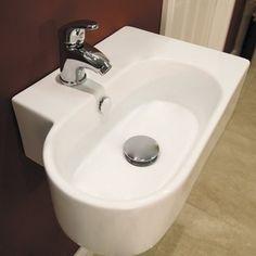 Brampton wall mounted basin