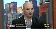 Author and journalist Matt Taibbi talks about his life and career and responds to viewer comments and questions. Mr. Taibbi, a contributor to [Rolling Stone] magazine, is the author of [Insane Clown…