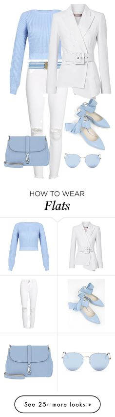 """Untitled #787"" by meryaaa on Polyvore featuring DL1961 Premium Denim, Delpozo, Bogner, Quay, Erika Cavallini Semi-Couture and Michael Kors"