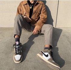 streetwear fashion Streetwear // ulture o - fashion Mode Outfits, Retro Outfits, Vintage Outfits, Fashion Outfits, Stylish Mens Outfits, Casual Outfits, Guy Outfits, Indie Rock Outfits, Look Man
