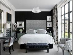 Crosby Street Hotel Bedroom. New York. Kit Kemp. -via Interior Canvas