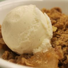 Bake up a tasty Apple Streusel Cobbler, made with Duncan Hines Comstock® or Wilderness® More Fruit Apple Filling.