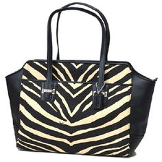 COACH Taylor Zebra Print Carry All  BlackWhite *** You can find more details by visiting the image link.
