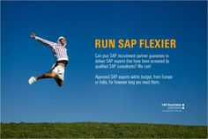 SAP consultants in recruitment rather than recruiters in SAP. Certified SAP architects with 20 years SAP experience, that now provide SAP talent to our clients.